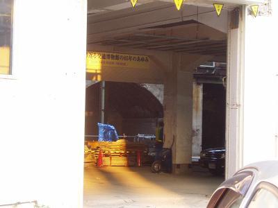 さよなら交通博物館 建物の解体状況(1)_f0030574_1012528.jpg