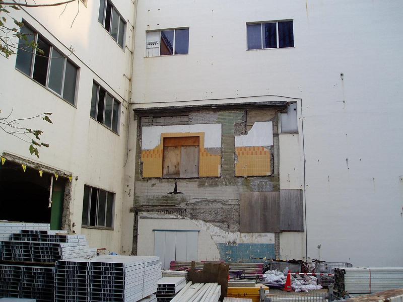 さよなら交通博物館 建物の解体状況(1)_f0030574_956235.jpg