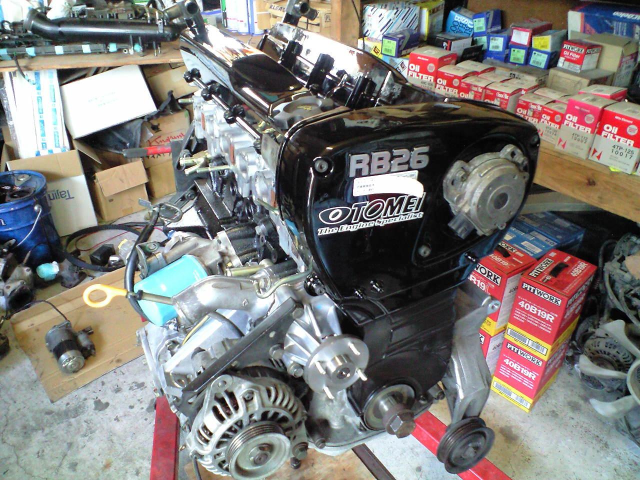 RB26 エンジンオーバーホール_f0102876_16573460.jpg