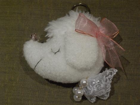 かわいいプードルのキーホルダー~「大人カワイイ☆パリスタイル雑貨フェア」其の四_e0152493_21442766.jpg