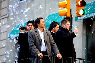 ヤンキースに沸いた一日 最高の優勝パレード!_e0160528_12575698.jpg
