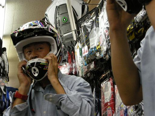 2010 ONE KOMBATヘルメット試着会_f0062361_2164330.jpg