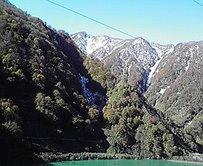 黒部峡谷トロッコ電車_b0134915_1554166.jpg