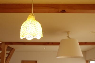 現場レポート I-House 照明器具が取り付きました!_f0165030_17333570.jpg