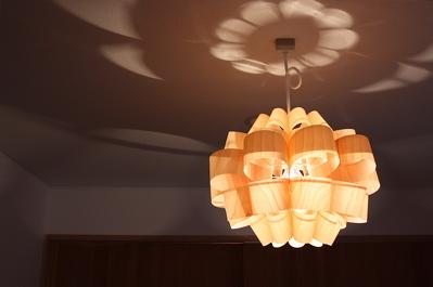 現場レポート I-House 照明器具が取り付きました!_f0165030_17334614.jpg