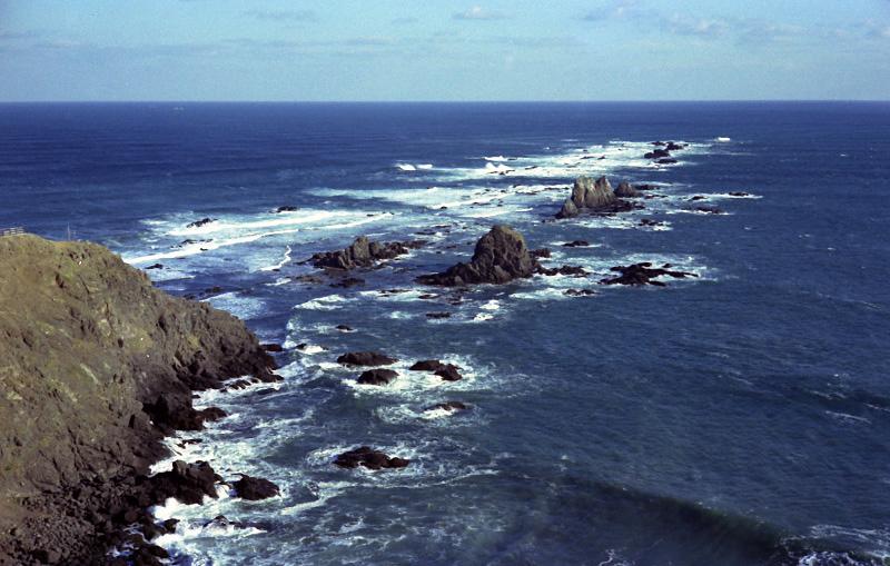 襟裳岬の波_e0100772_22352211.jpg