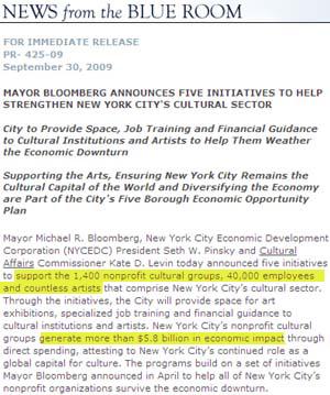 近年のニューヨークの活気の源は? ブルームバーグさん3選とNPO組織_b0007805_3375328.jpg