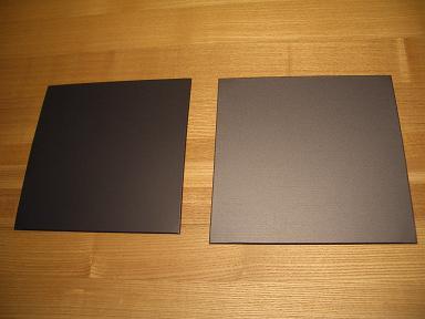 伊那市 住宅 屋根のガルバリウム鋼板サンプル_b0146238_1665396.jpg
