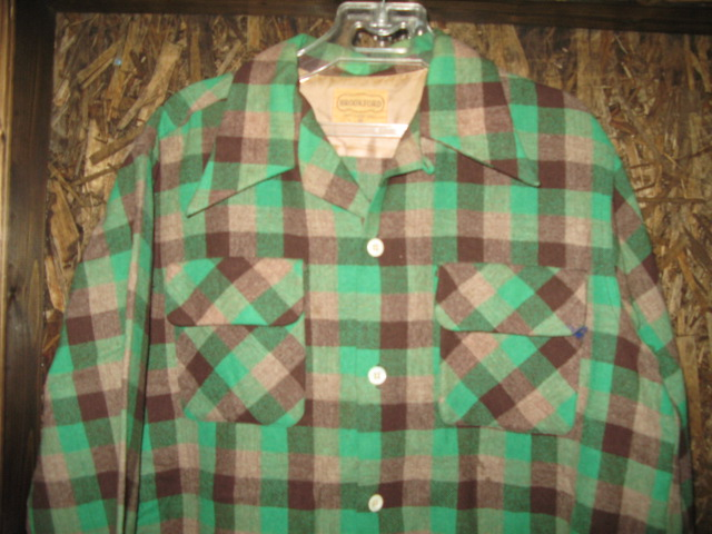 11月14日(土)入荷!50'S BROOKFORD WOOL shirts!_c0144020_1323275.jpg