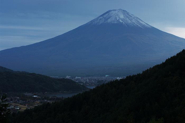2009 富士山の秋(1)~御坂峠から山中湖パノラマ台_f0155048_9462839.jpg