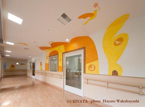 帝京大学附属病院アートワーク 1_c0144173_4173651.jpg