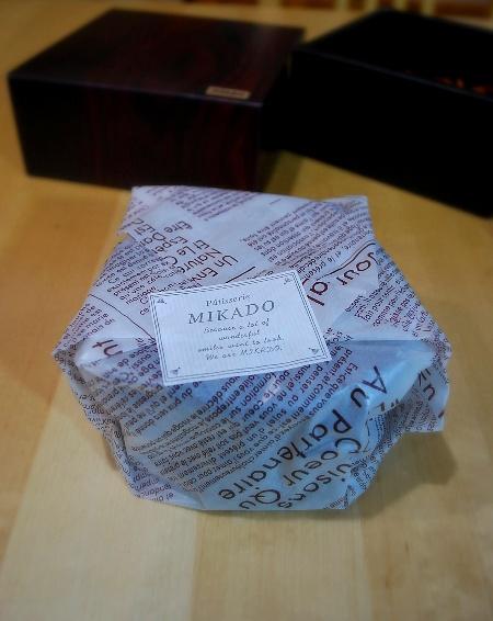 MIKADOのガトー・ショコラ_c0177814_11151196.jpg
