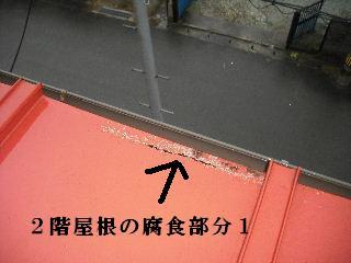 屋根塗装・・初日の高圧洗浄_f0031037_184573.jpg