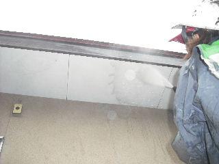 屋根塗装・・初日の高圧洗浄_f0031037_1852577.jpg