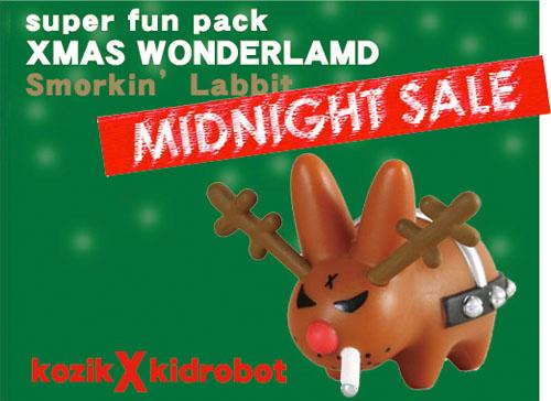 今夜の24時でしたね、クリスマス不良ウサギの発売は。_a0077842_13361514.jpg