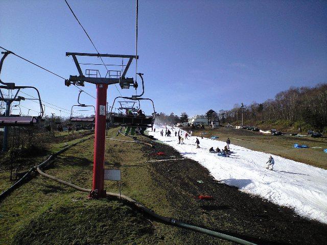 イエティ☆富士山を見ながらスノーボードのお仕事_c0151965_1913729.jpg