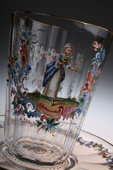LOBMEYR ロブマイヤー エナメル彩 glass_c0108595_2343834.jpg