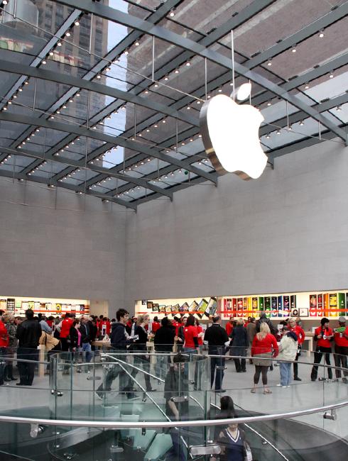 NY4店舗目のアップル・ストアがアッパー・ウェストにオープン!_b0007805_11415870.jpg