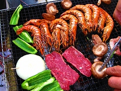 BBQ in てっつぁん家_a0036808_1656469.jpg