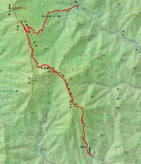 登山ツアー 比婆山(広島県、1.264m) 参加6名_d0007657_1612523.jpg