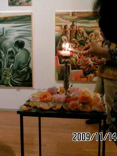 平岡達子さんの個展に_f0103760_21155242.jpg