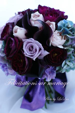 yumiさん制作Wedding Bouquet_d0141376_1501099.jpg