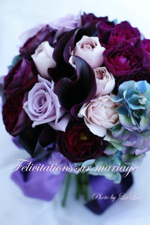 yumiさん制作Wedding Bouquet_d0141376_1503990.jpg