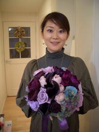 yumiさん制作Wedding Bouquet_d0141376_1583123.jpg