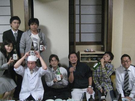 八海山パーティーINなにわ茶屋!!_a0128408_19253795.jpg