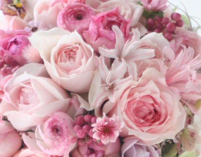 白いうさぎと黒いうさぎ2 アルピーノ様の装花 _a0042928_2252780.jpg