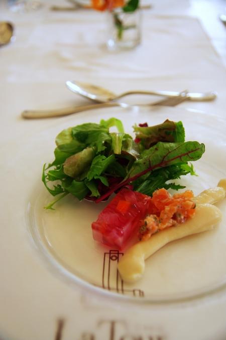 そうだ 京都、行こう。 ~憧れの吉田山 'レストラン ラ・トゥール'~_d0145934_758578.jpg