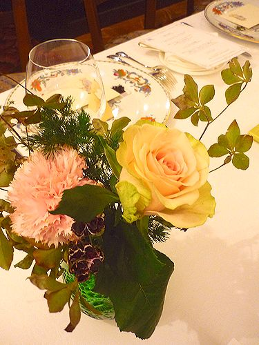 2010Michelin一つ星☆レストラン・パッション で 代官山だより♪4周年☆Maria\'s Tea Cup Afternoon Tea✛_a0053662_1431334.jpg