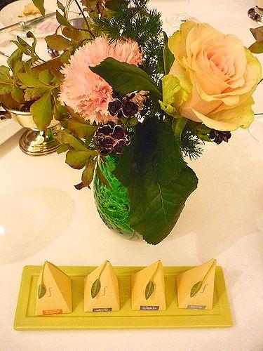 2010Michelin一つ星☆レストラン・パッション で 代官山だより♪4周年☆Maria\'s Tea Cup Afternoon Tea✛_a0053662_15105824.jpg