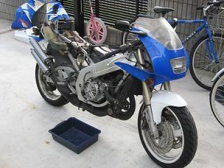 後輩のバイク整備_c0181475_170663.jpg