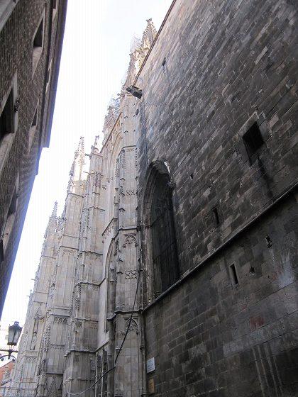 カテドラルのあたりで   Catedral de Barcelona_b0064411_4453139.jpg