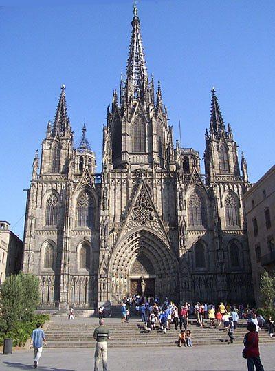 カテドラルのあたりで   Catedral de Barcelona_b0064411_4584594.jpg