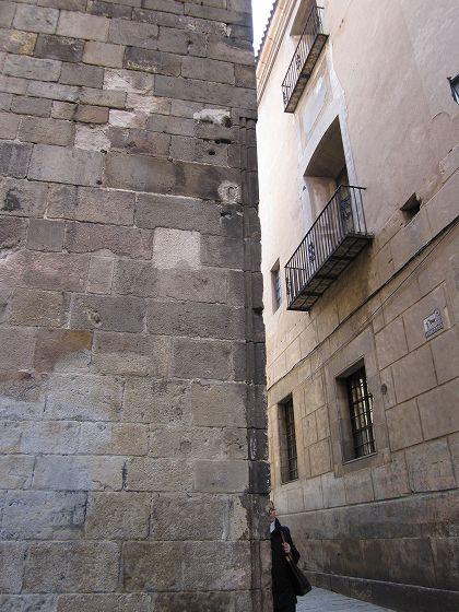 カテドラルのあたりで   Catedral de Barcelona_b0064411_5315787.jpg