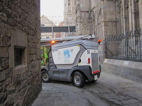 カテドラルのあたりで   Catedral de Barcelona_b0064411_5385748.jpg