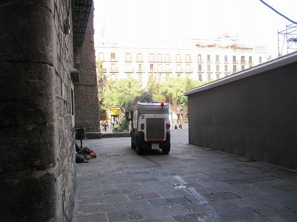 カテドラルのあたりで   Catedral de Barcelona_b0064411_5393138.jpg