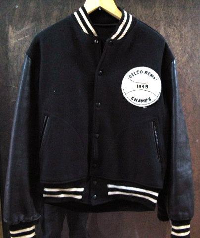 本日入荷!50\'S leather sleeve varsity JKT!! スタジャン_c0144020_13274060.jpg