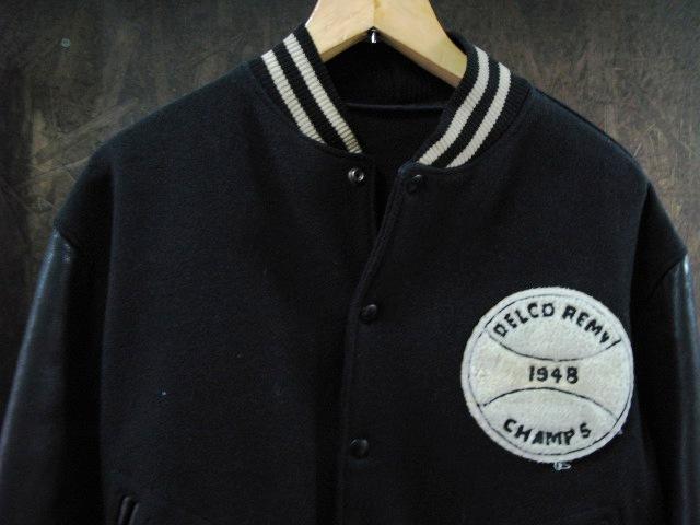 本日入荷!50\'S leather sleeve varsity JKT!! スタジャン_c0144020_13275249.jpg