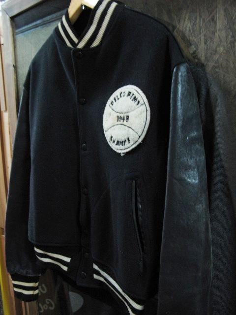 本日入荷!50\'S leather sleeve varsity JKT!! スタジャン_c0144020_1328432.jpg