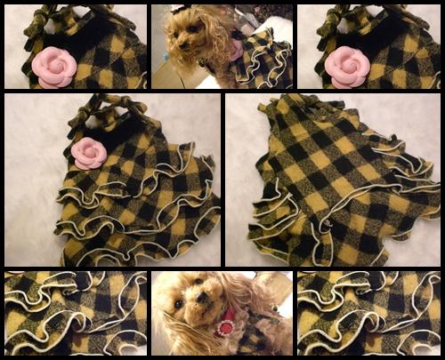 Dog-kiss×SoranBerry チェックヒロイン・ワンピ_b0084929_1881881.jpg