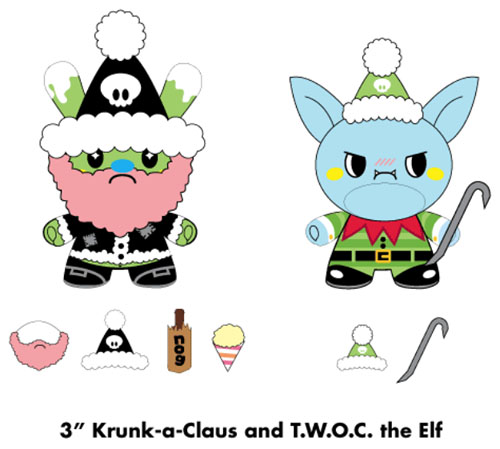 Krunk-A-Claus Dunnyの発売を早めました。_a0077842_10215777.jpg