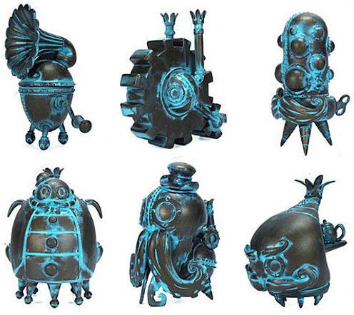 Mechtorians Mini Figure Verdigris ver. by Doktor A_e0118156_10153760.jpg