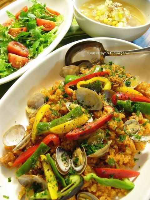 完熟トマト鍋を使って、簡単洋風炊き込みご飯♪_c0139375_135551100.jpg