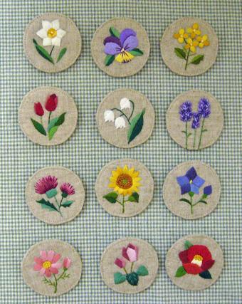 12ヶ月の花刺繍バッジ_a0138978_2022247.jpg