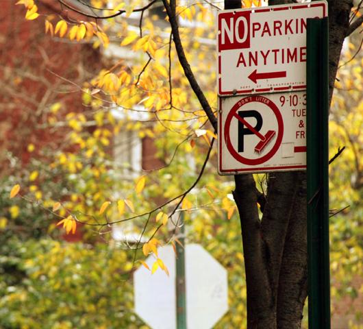 ニューヨークの紅葉、住宅街も美しいです_b0007805_22471576.jpg