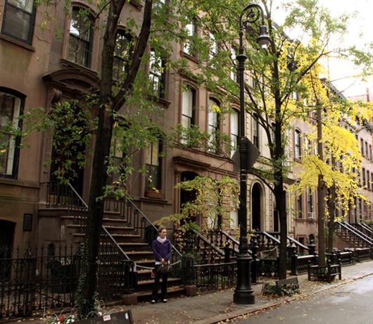ニューヨークの紅葉、住宅街も美しいです_b0007805_22473912.jpg