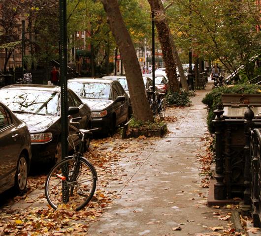 ニューヨークの紅葉、住宅街も美しいです_b0007805_22482542.jpg